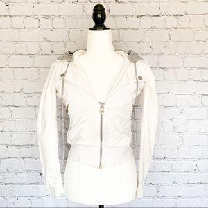 Miss Sixty Biker Jacket - White